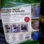 Here's the Rain Barrel Diverter kit from Amazon